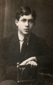 Marc Lavry at the age of 15