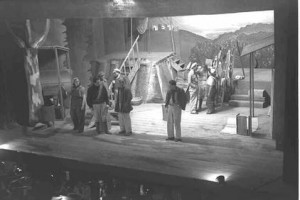 A scene from the Opera Dan Hashomer (1945)